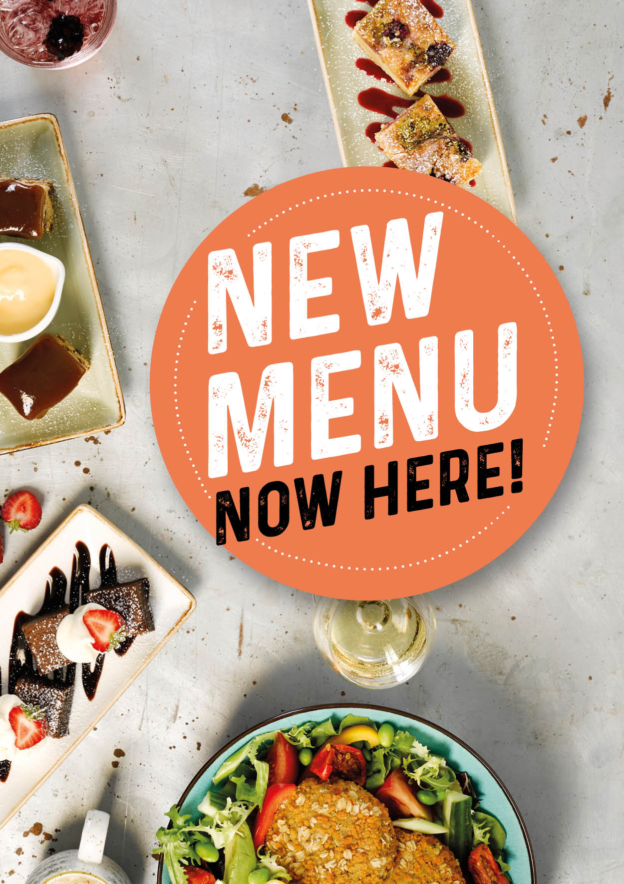 New Menu Is Here
